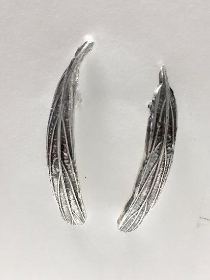 Mango Leaf Stud Earrings