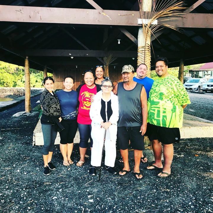 Let our bright line shine in 2018 mahalo auntie Pua for coming and sharing