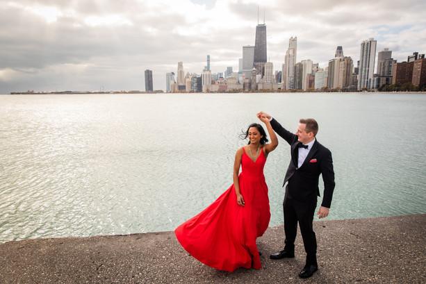 Nivedita + David's Intimate Autumn Wedding