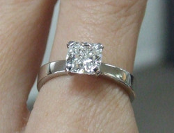 Diamond & Platinum Ring