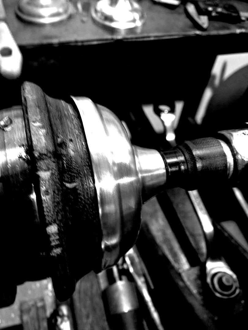 Metal Spinning...