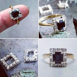 Repair, Restore, Revive...the setting of this ring was worn beyond reasonable repair..