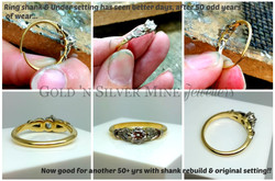 Rebuilding a Ring shank