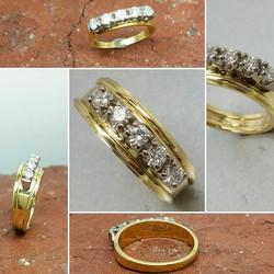 Retaining the sentimental ring, but addi