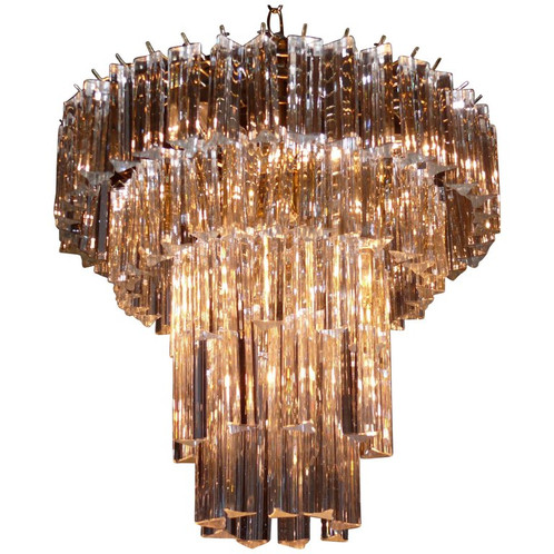 Five tiered venini chandelier aloadofball Images