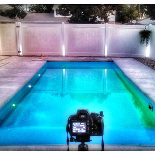 San Juan Biloxi Fiberglass Pool in Apple