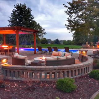 River Pools Model D40 Fiberglass Pool in