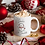 Thumbnail: Snowman Personalised Hot Chocolate Mug