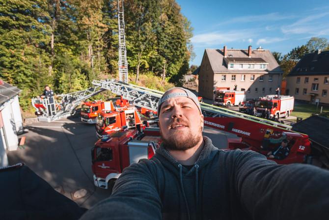 Freiwillige Feuerwehr Zschopau erhält ihre neue Drehleiter