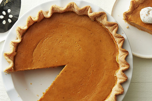 Pumpkin & Apple Pie (Deconstructed)