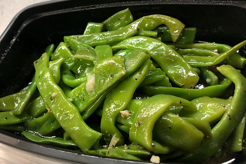 Romano Beans in Olive Oil & Garlic