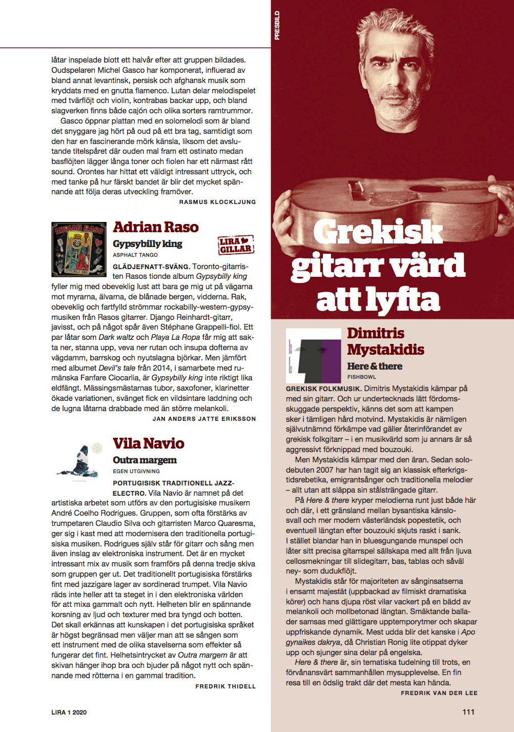 Lira Music Magazine (Sweden)