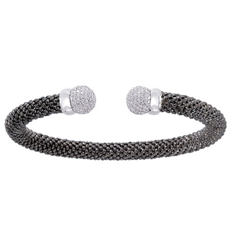 Diamond Meshmerise Allure Bangle, 7""