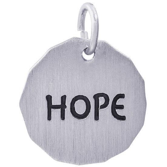 8434 Hope Charm Tag