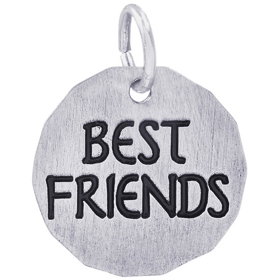 8437 Best-Friends Charm Tag