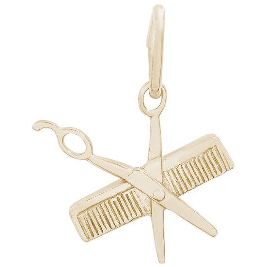 0799 Comb & Scissors
