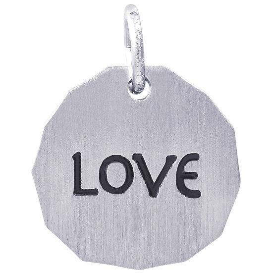 8431 Love Charm Tag