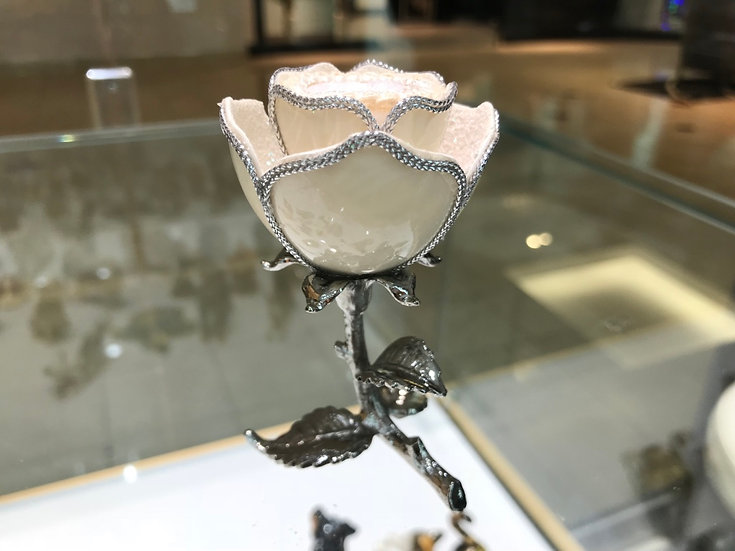 Rose (Silver Trim)