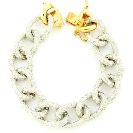 Diamond All Link Bracelet