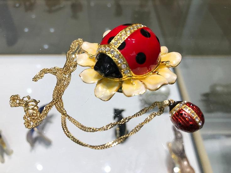 Blooming Ladybug
