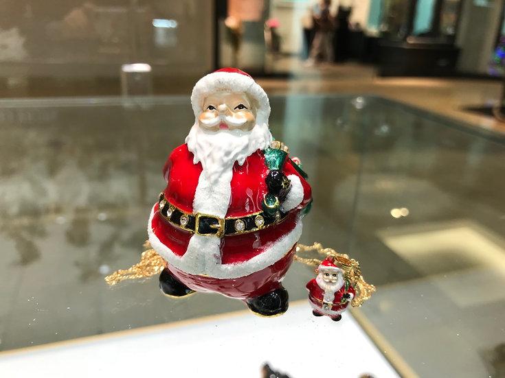 High Spirited Santa