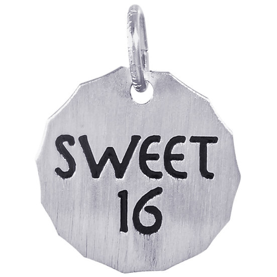 8436 Sweet-16 Charm Tag