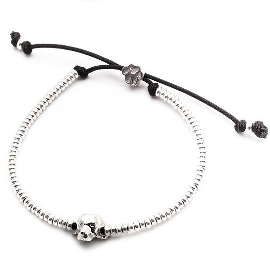 Head Bracelet, Beagle - Sterling Silver