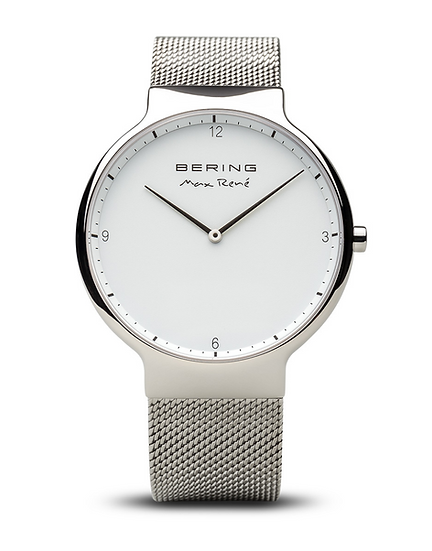 Max René | polished silver | 15540-004 | 40 mm