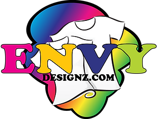 Envy Designz custom t-shirts, merchandise and accessiors. Need one order one!