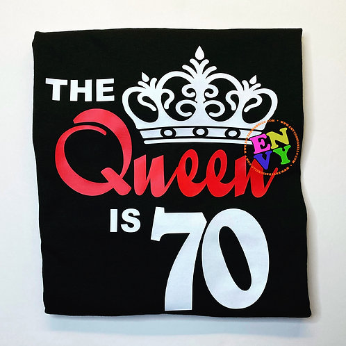 The Queen is 70  - T-shirt