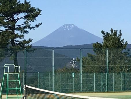 テニスのレッスン