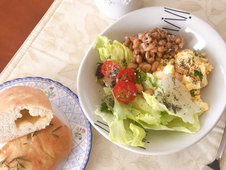 Stay Home ② パン作りと山野草の天ぷら