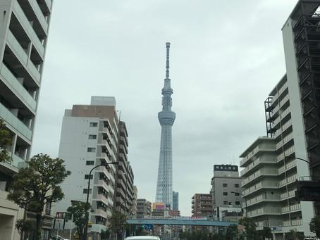 今週も東京出張しました