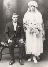 Arch Blackwood & Elsie Jeremiah wedding 1924