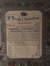 Bill Stephenson's Award