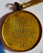 Pakenham Show Prize won by Ted Appleton in 1920