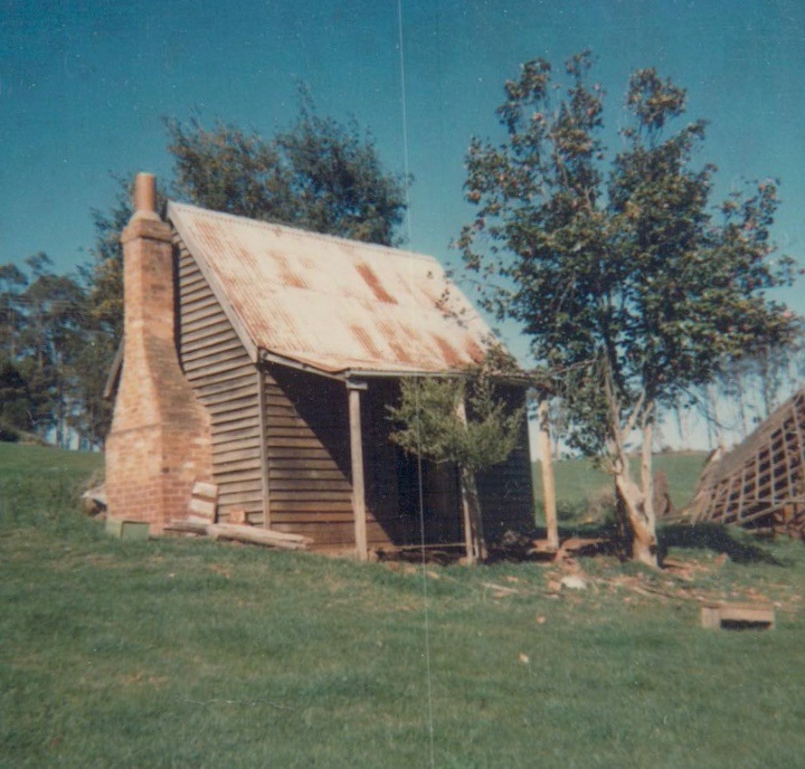 First Mt Burnett post office
