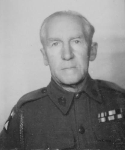 Ernest Gabbett during WWII