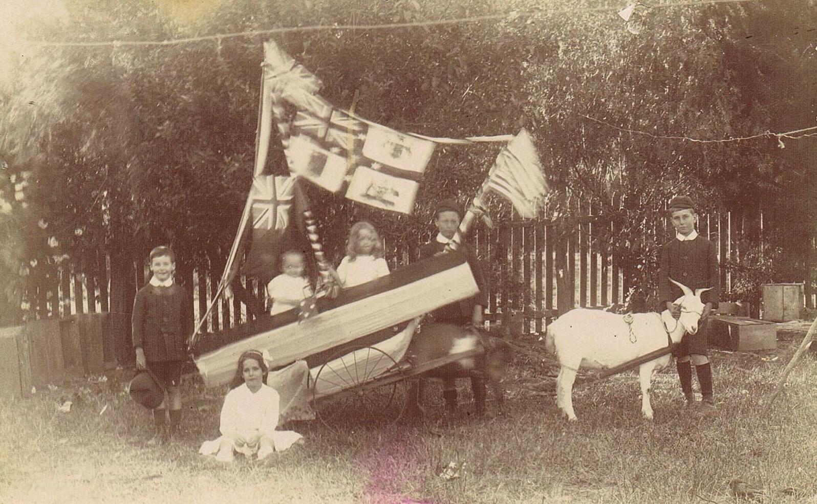 The Ahern Boys' Battleship