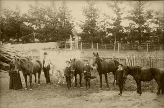 """Homegarth"" - late 1800s"