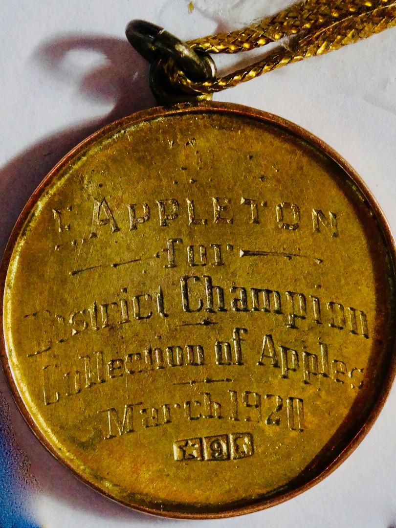 Pakenham Show Medal 1920