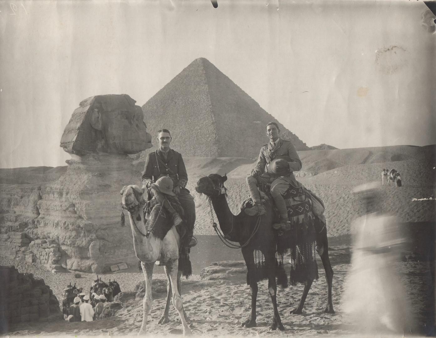 Bruce Ronald in Egypt