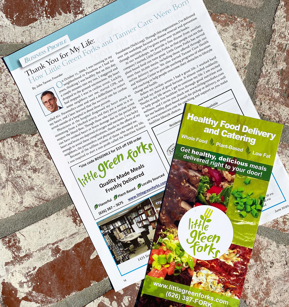 Business Profile of Little Green Forks in Monrovia Living Magazine