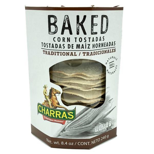 Baked Corn Tostadas by Charras