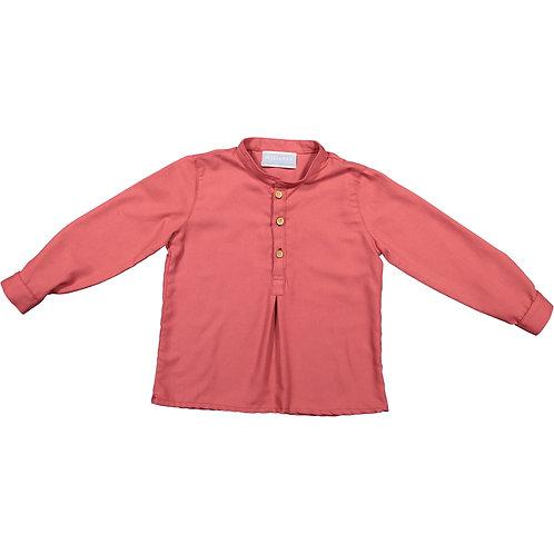 Dark Pink Flannel Shirt