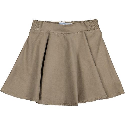 Grey Cordunoy skirt
