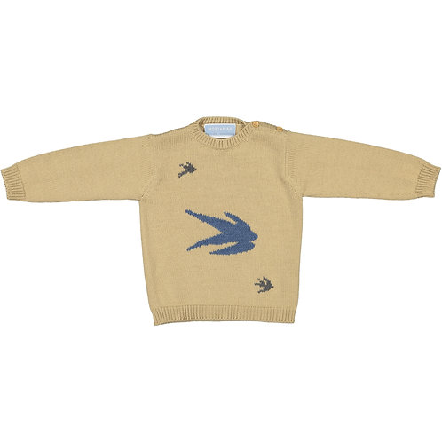 Swallows knit Sweater