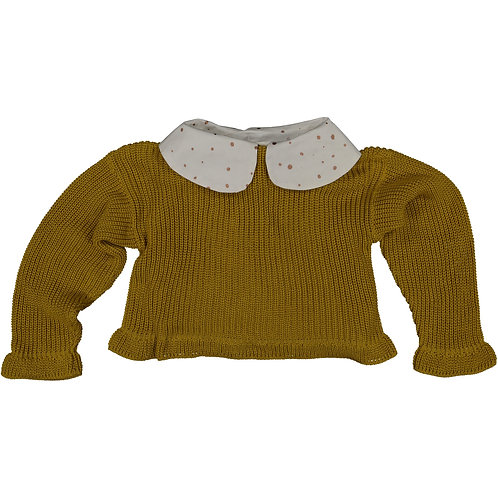Mostard Knitted Sweater