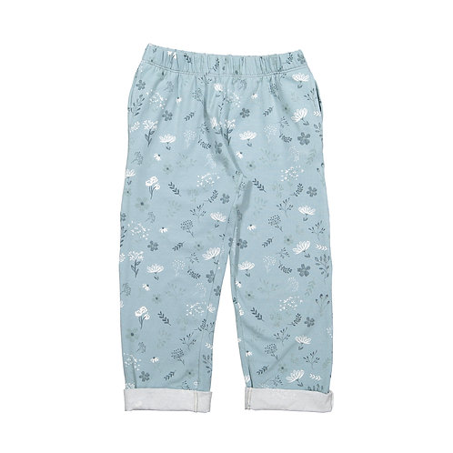 Blue Flowers Trousers