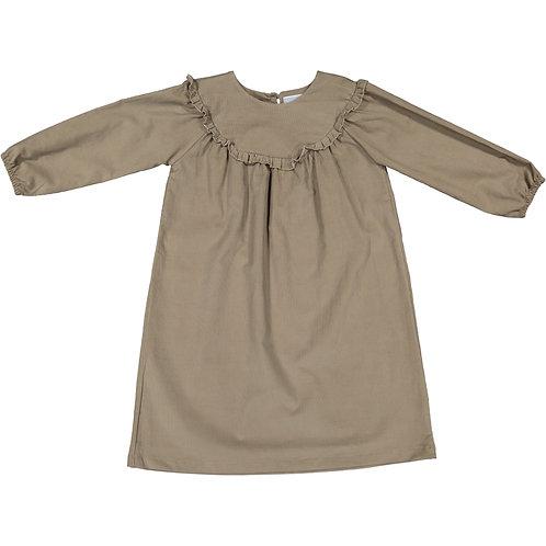 Grey Cordunoy dress